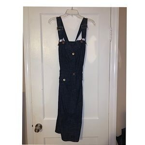 Sean John Denim Button Front Dress...Sz: 9...Blue